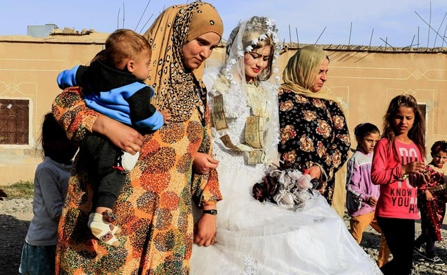 Lipstick, Mixed Dancing At First Raqa Wedding Since ISIS