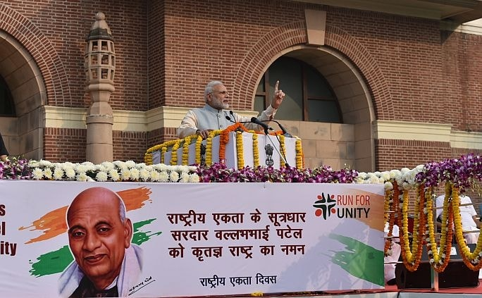 PM Modi flags off 'Run For Unity' on Rashtriya Ekta Diwas