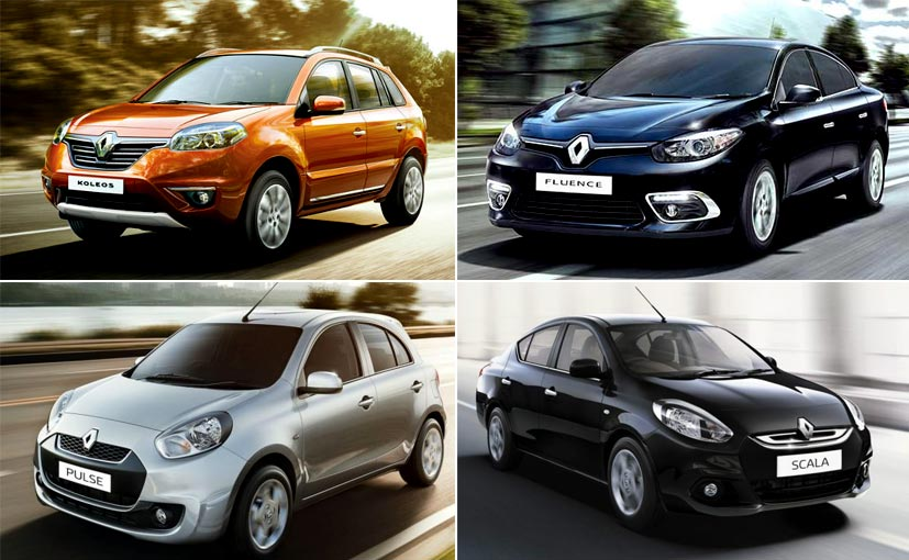 Renault Discontinues Pulse Scala Fluence And Koleos In India
