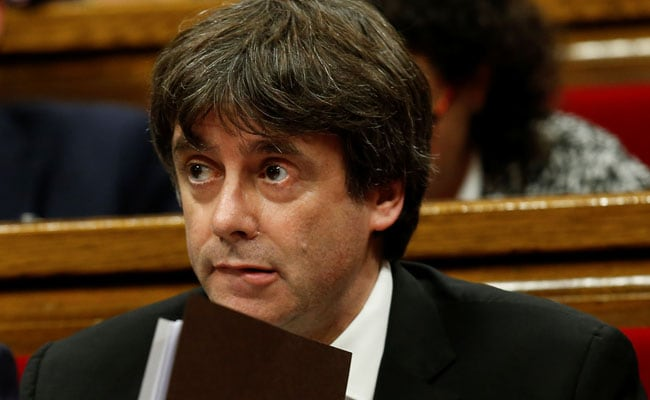 Catalan Leader Suspends Declaration Of Independence