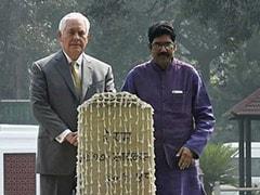 'Such A Simple Man': Rex Tillerson At Mahatma Gandhi Memorial