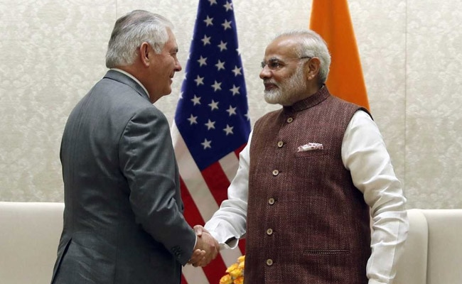 US Will Provide India Best Military Technology: Rex Tillerson