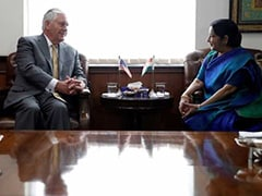 Protect India's Interests In H-1B Visa Issue, Sushma Swaraj Tells Rex Tillerson