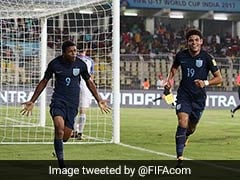FIFA U-17 World Cup: Rhian Brewster Scores Hat-Trick As England Enter Semis