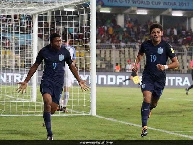 FIFA U-17 World Cup: Rhian Brewster Blasts Brazil To Put England In Final