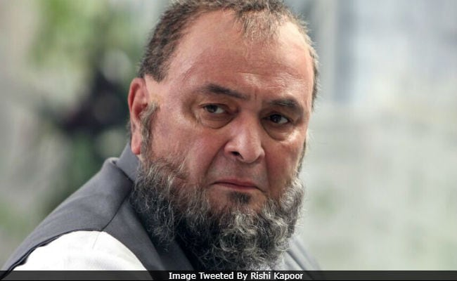 Rishi Kapoor Shares His First Look From Mulk