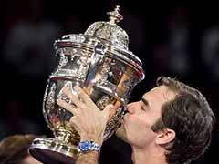 Roger Federer Downs Juan Martin del Potro For Eighth Swiss Indoors Crown