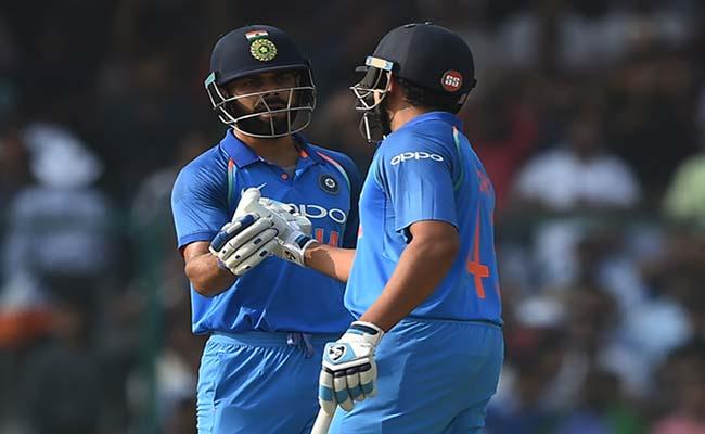INDvsNZ: कोहली और रोहित ने दूसरे विकेट की साझेदारी का बनाया 'विराट' रिकॉर्ड