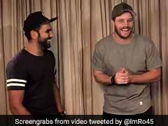 Rohit Sharma Tests Mitchell McClenaghan's 'Hindi Skills'. This Is How He Fared