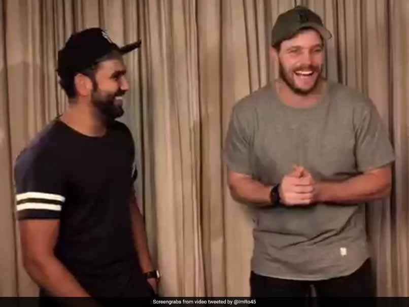 Rohit Sharma Tests Mitchell McClenaghan