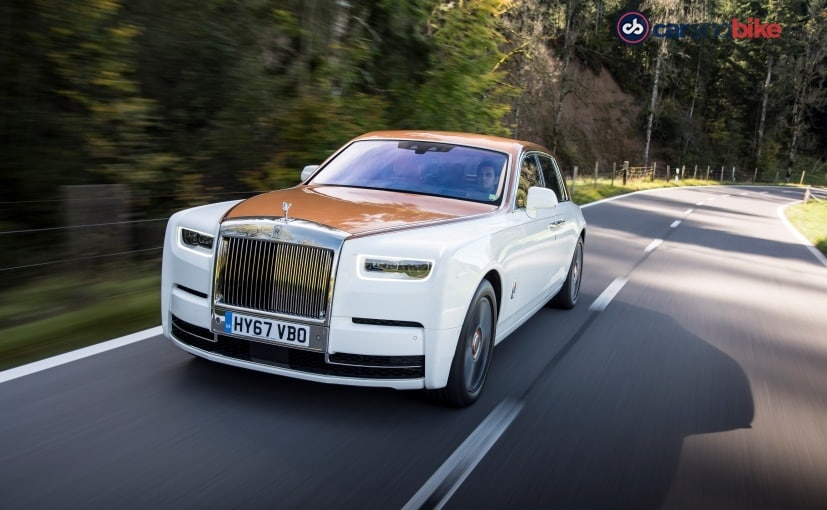 rolls royce phanton 8 performance
