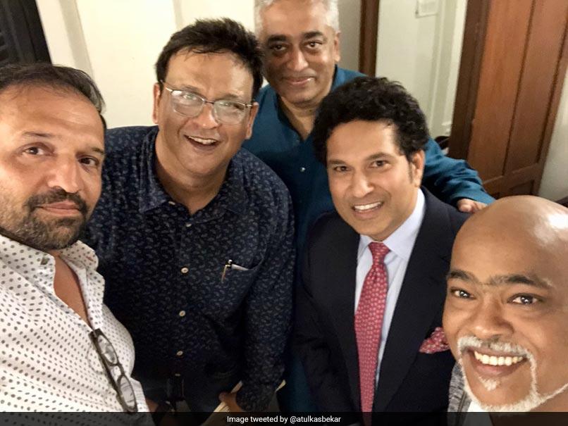 Sachin Tendulkar, Vinod Kambli Finally Meet... And It