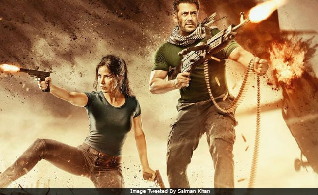 tiger zinda hai poster salman khan and katrina kaif are back with double trouble