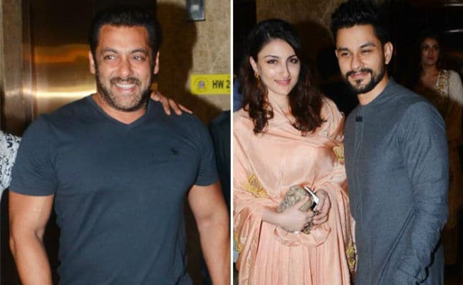Salman Khan At A-List Diwali Party. New Mom Soha Ali Khan Also Attends