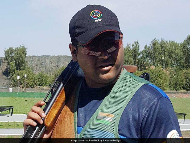ISSF World Cup Final: Sangram Dahiya Wins Silver In Double Trap