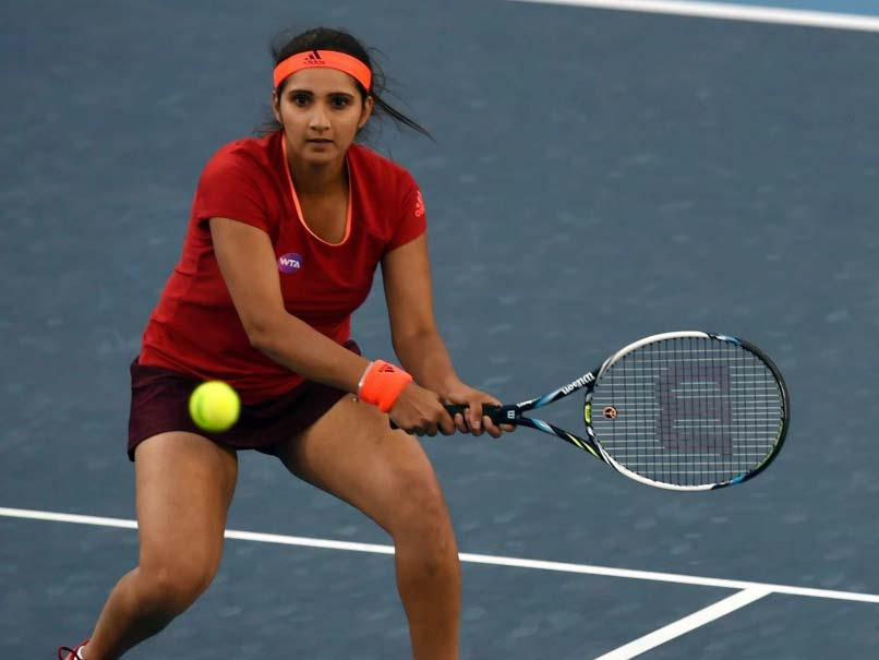 Sania Mirza Suffering From Knee Injury