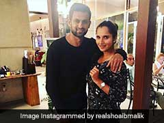 Sania Mirza's Funny Tweets On Husband Shoaib's Man Of The Series Prize Wins Over Pakistani Fans