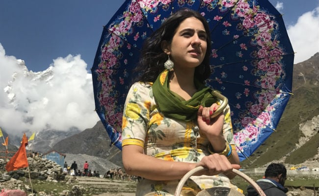 Kedarnath First Look: Doesn't Sara Ali Khan Look Just Like Mom Amrita Singh?