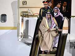 Saudi King's 1,500-Person Entourage And Golden Escalator Travels With Him