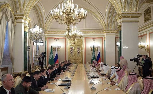 saudi king russia afp