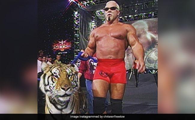 WWE का यह सुपरस्टार टाइगर लेकर आ गया था रिंग में, अब भोजपुरी बोलता नजर आएगा