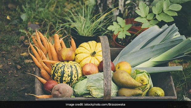 seasonal fruits and vegetables