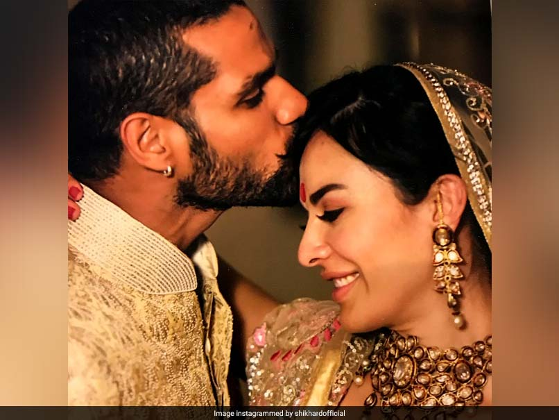 Shikhar Dhawan Posts Loving Message For Wife Ayesha On 5th Marriage Anniversary
