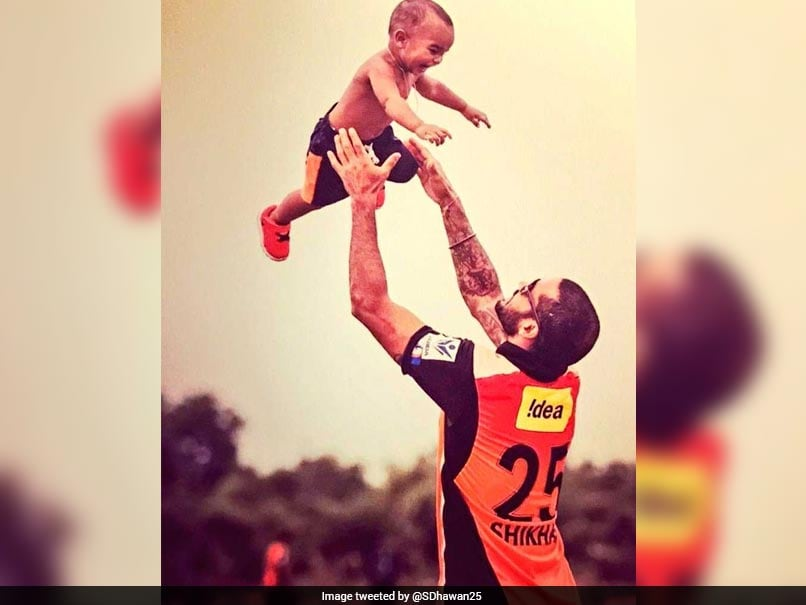 India vs New Zealand: Shikhar Dhawan Gets Emotional As Son Seeks Him Out On Television
