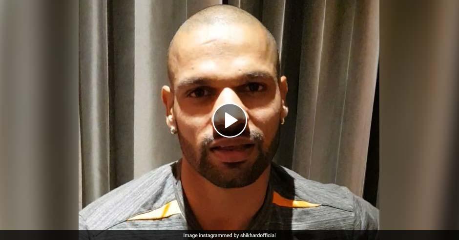 VIDEO: राष्ट्रगान गाने के बाद भावुक हुए शिखर धवन, रोहित शर्मा बोले- संभलिए जट जी!
