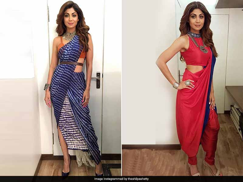Shilpa Shetty\'s Saree Game Is Six Yards Of Stunning. Our Fave Looks