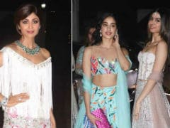 Shilpa Shetty's Diwali Bash, Khushi And Jhanvi Kapoor Stole The Limelight