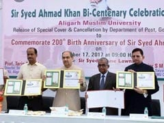 Department Of Post Releases Special Cover To Observe Sir Syed Bicentenary Celebrations