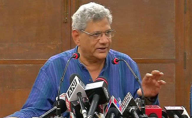 Stop Attacks On Opposition, Sitaram Yechury Tells New Tripura Government