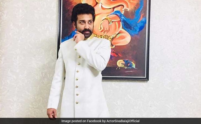 Actor Siva Balaji Files Complaint Over 'Abusive' Comments On Wife