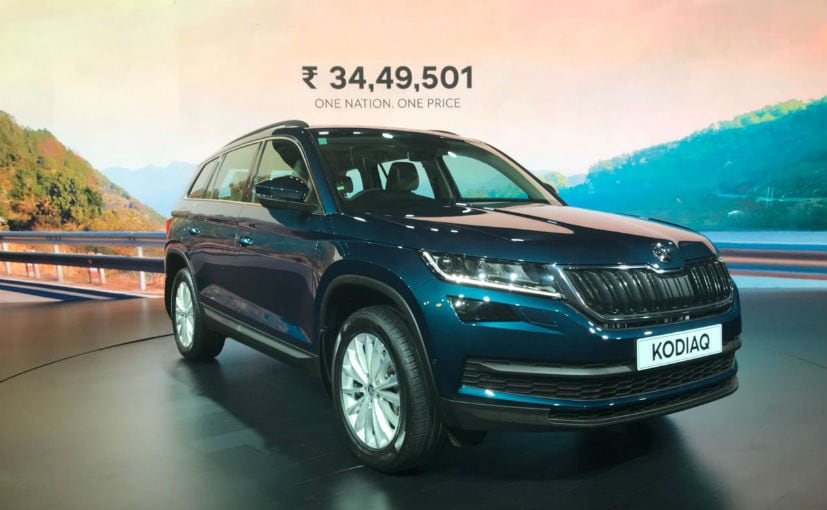 The Skoda Kodiaq has been launched in one fully-loaded variant - Style trim
