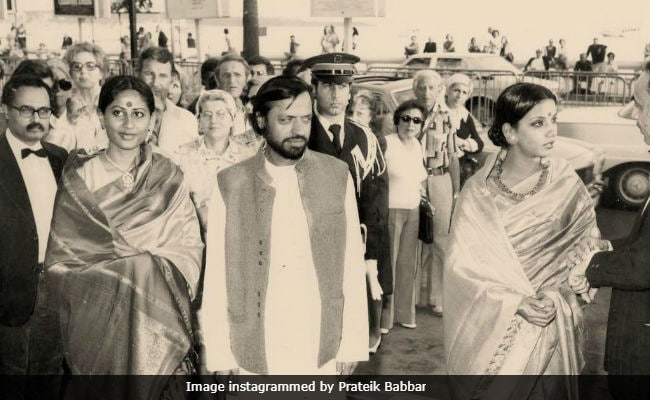 Smita Patil At Cannes 'Light Years Ago,' Posted By Son Prateik