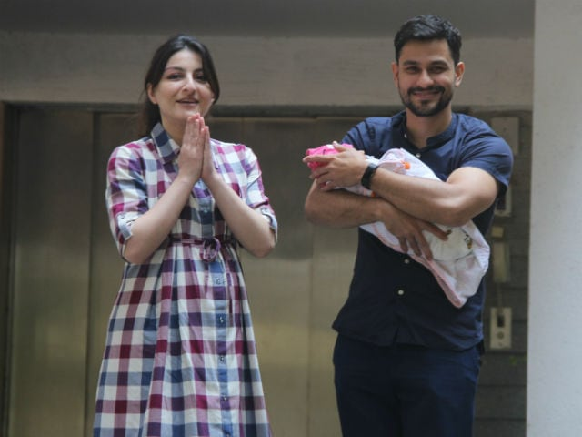 Soha, Kunal name daughter Inaaya Naumi Kemmu