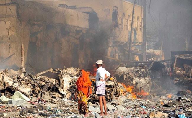 सोमालिया में हुए भीषण विस्फोट में मरने वालों की संख्या 300 के पार