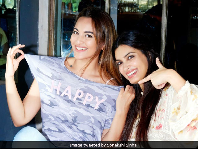 Sonakshi Sinha Joins Happy Bhaag Jaegi's Team For Sequel. Posts A 'Happy' Picture