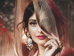 Sonam Kapoor For Vogue As Anarkali And Frida Kahlo