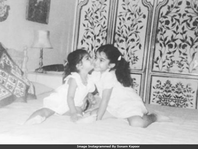 Sonam Kapoor, Sister Rhea In An Old Adorable Throwback Pic