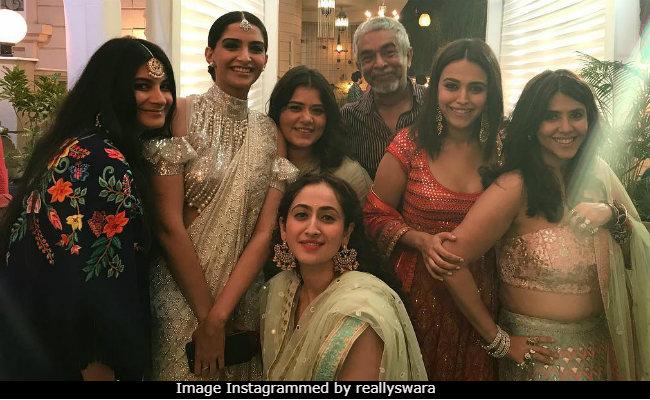 Inside Ekta Kapoor's Grand Diwali Party With Sonam Kapoor And Sara Ali Khan