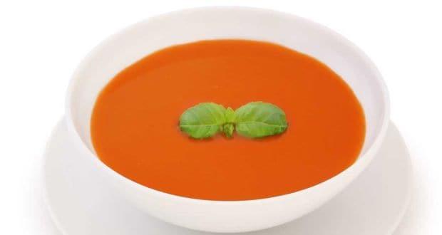 भुनी लाल शिमला मिर्च का सूप
