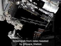 Astronauts Spacewalk To Install New Camera On International Space Station