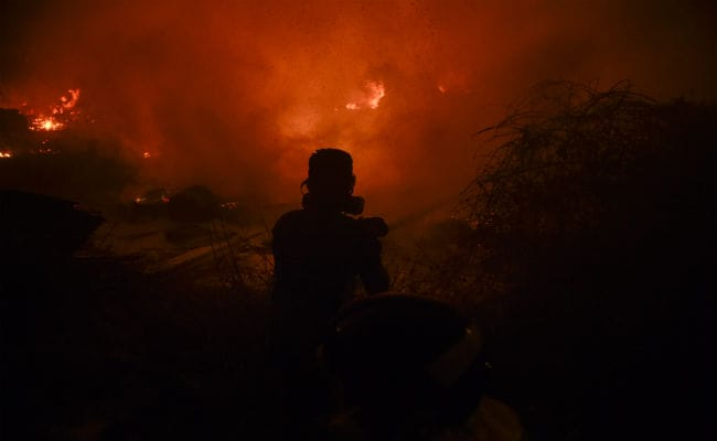 Wildfire Toll Hits 45 In Portugal, Spain But Rain Brings Respite