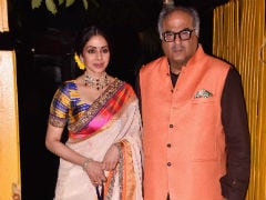 Sridevi, Amitabh Bachchan And Aamir Khan At A Grand Diwali Party. Pics Here