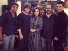 Inside Shah Rukh Khan's Diwali Get-Together With Karan Johar, Farah Khan