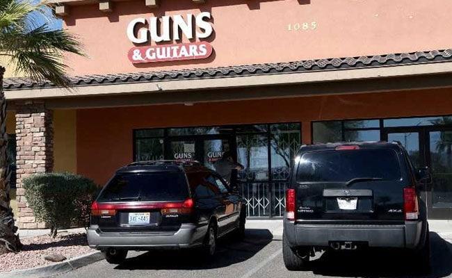 stephen paddock guns and guitars afp