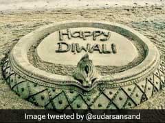 On Diwali, Sand Artist Sudarsan Pattnaik's Appeal: No Crackers, Please