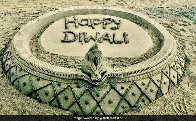 On Diwali, Sand Artist Sudarsan Pattnaik's Appeal: No Crackers, Please